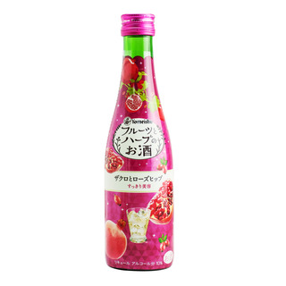 Yomeishu Fruits & Herbs Tonic Bottle Drink - Pomegranate