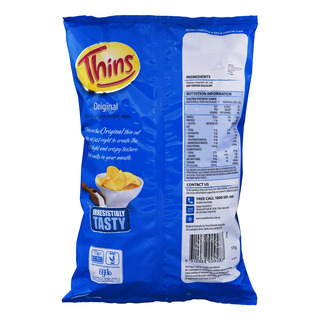 Thins Potato Chips - Original (Salt)