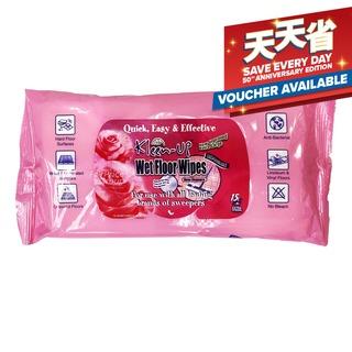 Kleen-Up Wet Floor Wipes - Rose Elegance