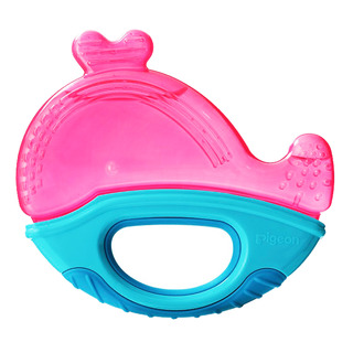 Pigeon Cooling Teether - Pinkie Whale
