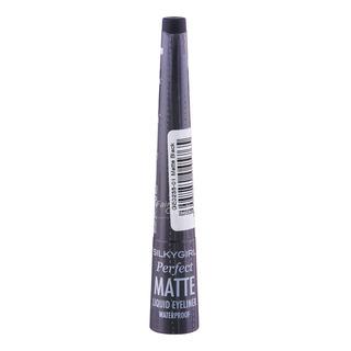 Silkygirl Perfect Matte Waterproof Liquid Eyeliner - Matte Black