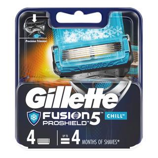 Gillette Razor Cartridge Refill - Fusion Proshield (Chill)