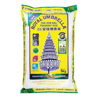 Royal Umbrella Thai Hom Mali Fragrant Rice - New Crop