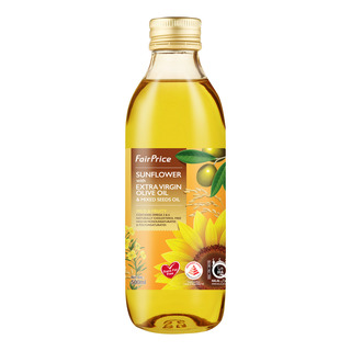 FairPrice Sunflower Olive & Mixed Seeds Oil - Mild & Fruity