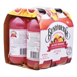 Bundaberg Sparkling Fruit Bottle Drink - Blood Orange