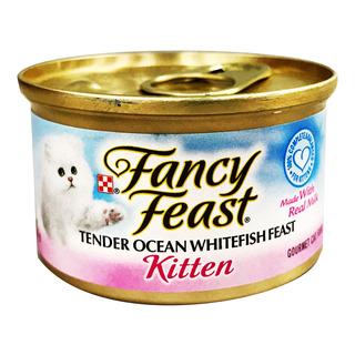 Fancy Feast Kitten Cat Food - Tender Ocean White Fish