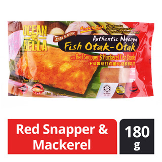Ocean Bella Nyonya Fish Otak-Otak - Red Snapper & Mackerel