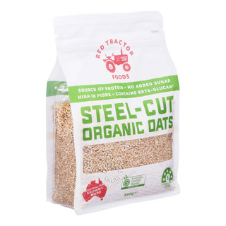 Red Tractor Foods Organic Oats - Steel Cut