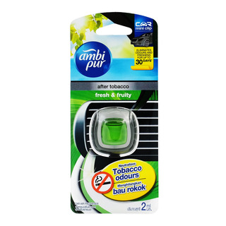 Ambi Pur Car Mini Clip Air Freshener - Fresh & Fruity
