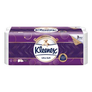 Kleenex Ultra Soft Toilet Tissue Rolls - Cottony Clean