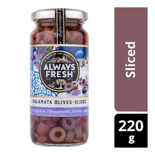 Always Fresh Kalamata Olives -  Sliced
