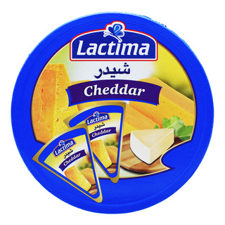 Lactima Processed Cheese Portions - Cheddar