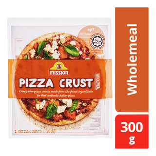 Mission Pizza Crust - Wholemeal