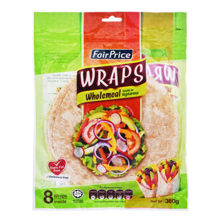 FairPrice Wraps - Wholemeal