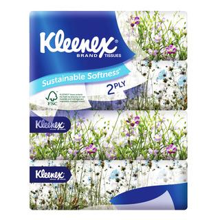 Kleenex Facial Tissue Soft Pack - Garden (2ply)