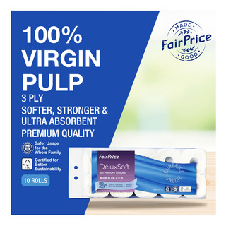 FairPrice Gold Deluxe Soft Bathroom Tissue (3ply)