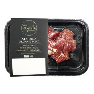 Ryan's Organic Frozen Beef Cube