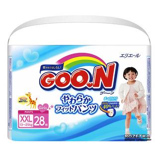 GOO.N Japan Version Girl Pants - XXL (13 - 25kg)