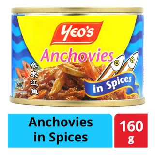 Yeo's Can Food - Anchovies in Spices
