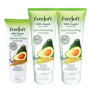 Eversoft Organic Cleanser Foam - Extra Nourishing