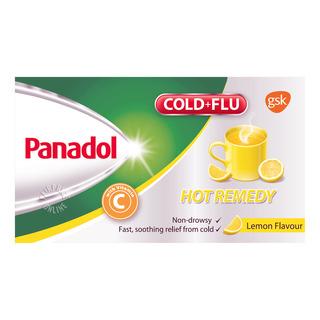 Panadol Cold & Flu Hot Remedy - Lemon