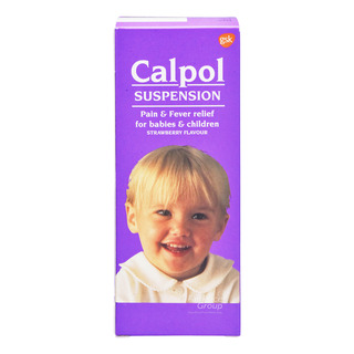 Calpol Infant Suspension - Strawberry