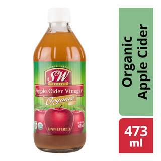 S&W Premium Vinegar - Organic Apple Cider