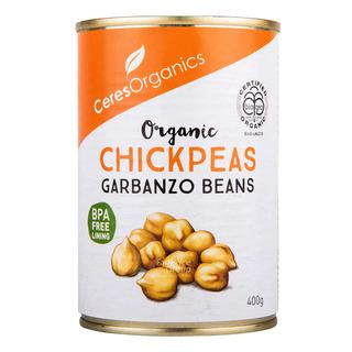 Ceres Organics Chickpeas 400g| FairPrice Singapore