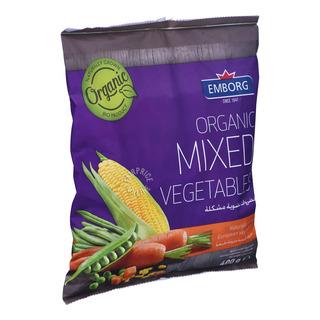 Emborg Organic Frozen Mixed Vegetables