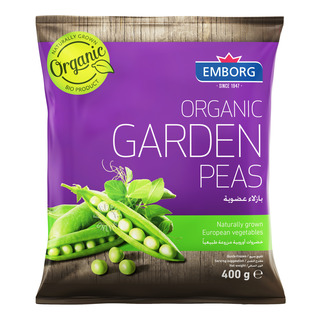 Emborg Organic Frozen Garden Peas