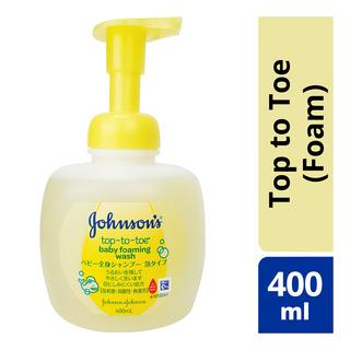 Johnson's Baby Wash - Top to Toe (Foam)