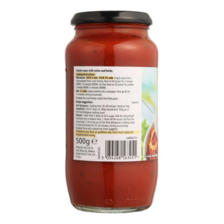 Tesco Free From Cooking Sauce - Bolognese