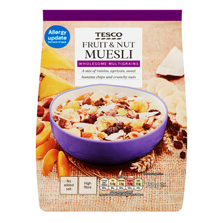 Tesco Muesli Cereal Flakes - Fruit & Nut