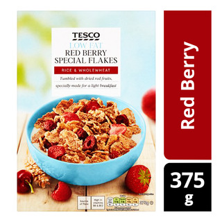 Tesco Special Flakes Cereal - Red Berry