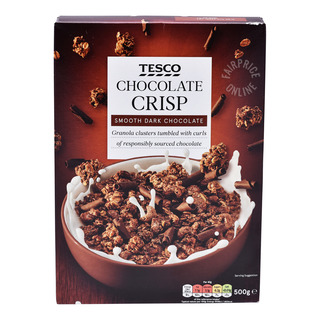 Tesco Crisp Cereal - Chocolate
