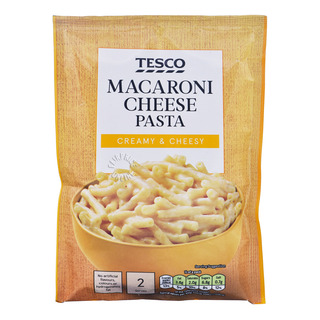Tesco Pasta & Sauce - Macaroni Cheese