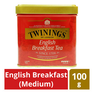 Twinings Loose Tea Tin - English Breakfast (Medium)