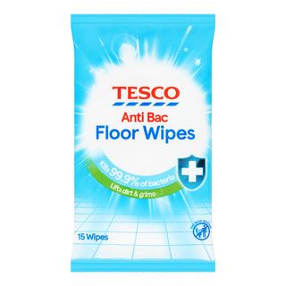 Tesco Anti+Bac Floor Wipes - Original