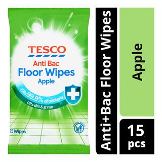 Tesco Anti+Bac Floor Wipes - Apple