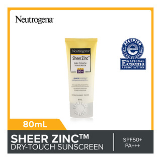 Neutrogena Dry-Touch Sunscreen Lotion - Sheer Zinc (SPF50+)