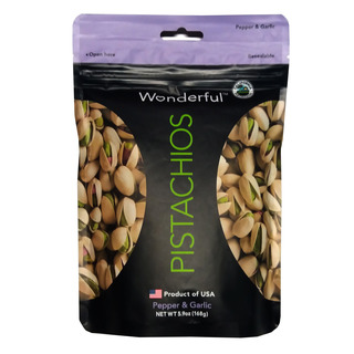 Wonderful Pistachios - Pepper & Garlic