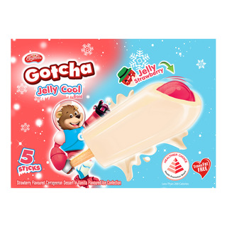 F&N Magnolia Gotcha Ice Cream - Jelly Cool Strawberry