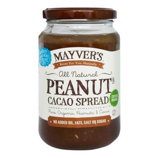Mayver's Organic Peanut Spread - Cacao