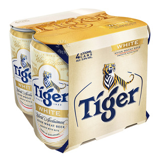 Tiger Can Beer - White Wheat