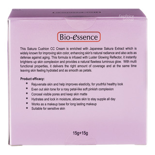 Bio-Essence Sakura Cushion CC Cream with Refill