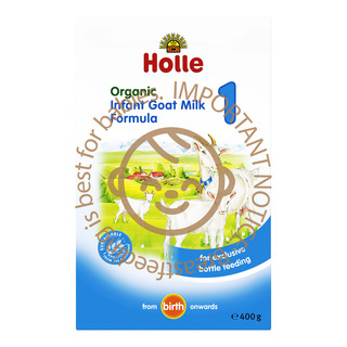 Holle Organic Infant Goat Milk Formula - Step 1