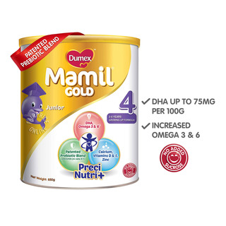 Dumex Mamil Gold Growing Up Milk Formula - Step 4