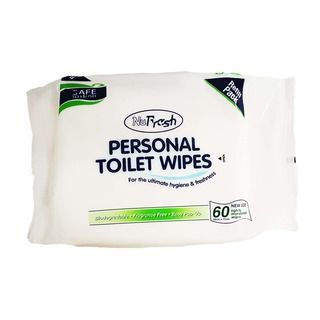 NuFresh Personal Toilet Wipes Refill