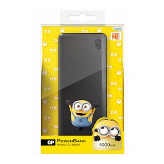 GP 5000mAh Powerbank - Minions (Metallic Grey)