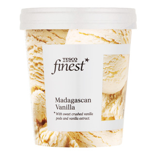 Tesco Finest Ice Cream - Madagascan Vanilla